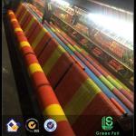 red de seguridad del amarillo anaranjado del HDPE de la virgen del 100% malla/de la barrera de seguridad plásticas/malla de la seguridad de China