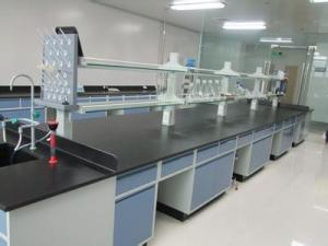 China Ceramic board countertop lab workbench furniture equipment on sale