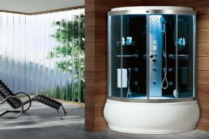 China CE,TUV, EMC Family residential steam tub shower system enclosers rooms cabinets on sale