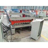 Galvanized Corrugated Roofing Panel / Roof Sheet Making Machine with unit PLC Control