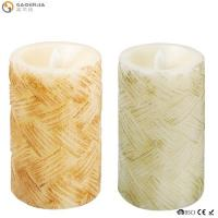 China Classical Led Garden Moving Flame Battery Candles Color Changing With Remote on sale