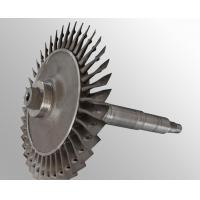 Custom made Raw casting plus machining vacuum investment casting steam turbine wheel