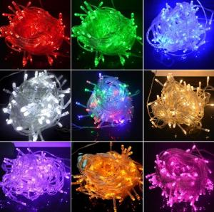 China Twinkle Christmas Decorative String Lights , Led Strip Lights 220V / 110V Input Voltage on sale