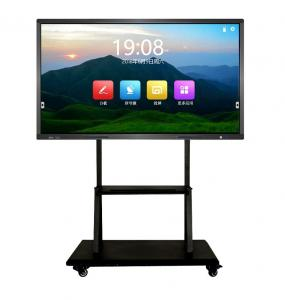 China High-end interactive led flat panel with built-in window system for conference on sale