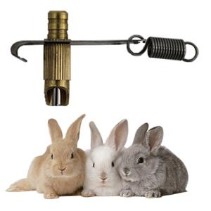 China Rabbit quail nipple drinker for rabbit cage on sale