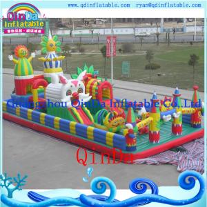 China QinDa inflatable air bouncer, bouncy castle sales inflatable jumping bouncer for sale on sale
