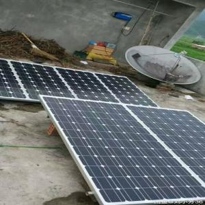 China 1 Kilowatt Pure Sine Wave Inverter Solar Power Generator Solar Panel System on sale