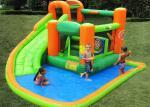0.55mm Tarpaulin Plato Pool Slide Inflatable Water Parks