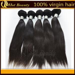 China 5A Unprocessed Remy Indian Hair Extensions  on sale