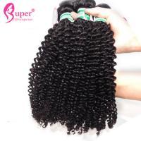 Bundles 100% Unprocessed Human Virgin Peruvian Hair Double Drawn Kinky Curly