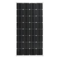 Mono 100 Watt Solar Panel , Polycrystalline RV Flexible solar panels PV Solar Panel For Home Use / Roof Cart