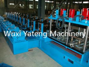 China 14 - 24 Roller Stations Roof Sheet Making Machine , Corrugated Iron Rolling Machine 65mm Shaft Material on sale