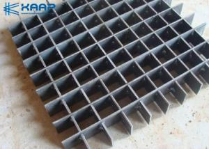 China Galvanized Welded Steel Bar Grating  , Metal Bar Grating Floor Applied For Gutter on sale