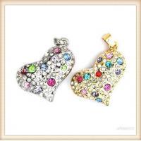 Promotion heart shape jewelry pen usb drive