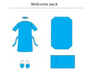 China Hygienic Welcome Sterile Surgical Packs Pillow Cover,Breathable Custom Surgical Packs on sale