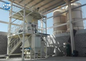 China Custom Dry Mortar Plant PLC Controlling System For Tile Adhesive Mortar on sale