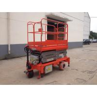 China 0.75 - 3Kw Power Hydraulic Aerial Work Platform , Full Electric Mobile Elevated Platform on sale