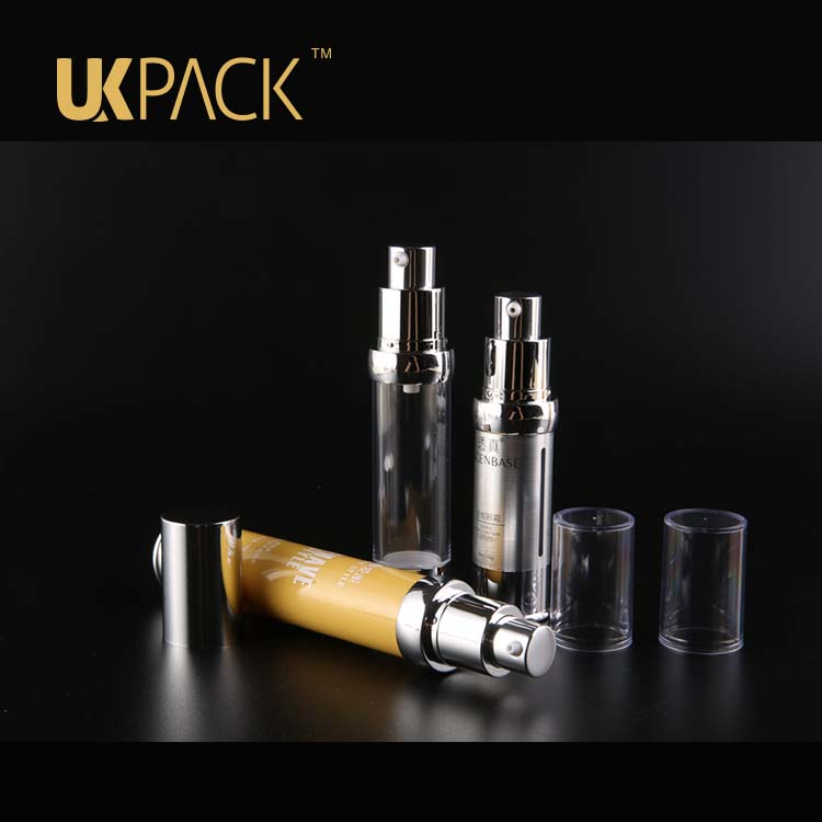 Cosmetic syringe Airless bottle,15ml-20ml-30ml AS Cosmetic bottle,airless pump bottle 15ml