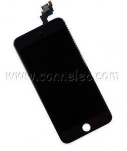 China Iphone 6 plus black display assembly with front camera, repair LCD Iphone 6 plus, 6 plus on sale