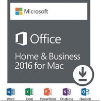 Microsoft MAC Office 2016 Home & Business Full Version For MAC license Online activation