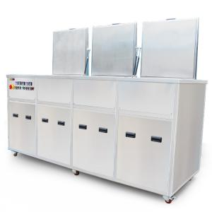 China Medical Part Ultrasonic Cleaning Rinsing With Filters + Drying Tank For Medical Needles / Cannul on sale