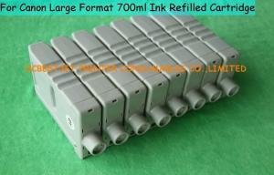 China Large format PP Canon IPF8010s Ink Cartridge , 700ml Compatible Ink Cartridges on sale