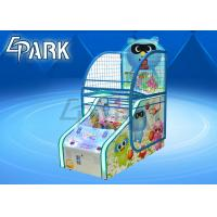 Indoor Arcade Basketball Game Machine Coin Operated For Supermarket 	 51KG