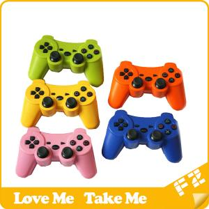 China China video game consoles wireless bluetooth for ps3 game controller on sale