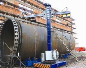 China Carbon Steel 60HZ 800mm Min Heavy Duty Gantry Welding Machine on sale