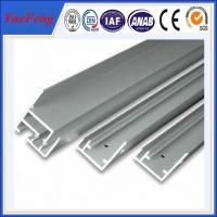 China Hot! International standard 6063-t5 anodized aluminum profile extrusion for solar panel on sale