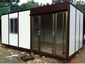 China 20FT / 40FT Container Home Waterproof Sound - Insulated Heat Preservation on sale