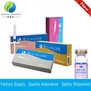 Quality 1ml Derm Deep Filler Best Quality HA Dermal Facial Filler Injection for sale