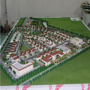 China Miniature villa scale models for development plan , 3d physical model with lighting on sale