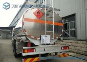 China Foton 21000L Oil Tank Trailer  6 * 2 Carbon Steel Diesel Tank Trailer for sale on sale