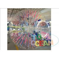 PVC /TPU Material Human Body Zorb Ball , Outdoor Game Giant Inflatable Human Ball