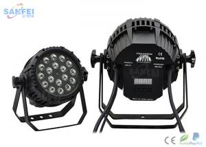 China 18 * 10W IP65 Led Zoom Par Stage Light / Outdoor Event Light 2 Years Warranty on sale