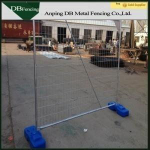 China Portable Temporary Dog Fence Panels , Security Temporary Barricade Fence on sale