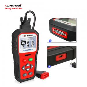 China KONNWEI KW818 OBDII Code Reader Auto Scan TOOL Engine test Battery Monitoring in Real Time on sale
