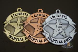 China Use Your Own Design Or Logo Metal Award Medals Gold / Silver / Copper Antique Plating on sale