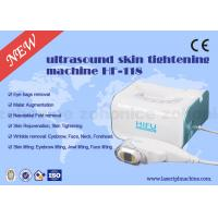 China Vertical 800W Ultrasonic 3D HIFU Machine 3MHZ Frequency For Face Lifting on sale