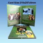 Wedding Custom Video Greeting Cards , 7 Inch 16.7M Promotional Video Card