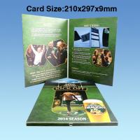 China Wedding Custom Video Greeting Cards , 7 Inch 16.7M Promotional Video Card on sale