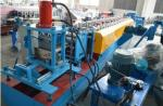 Hydraulic Galvanized Steel Door Frame Roll Forming Machine Fully Automatic Multi Model