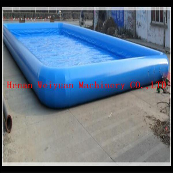 15*20m PVC0.9mm big water park equipment inflatable swimming pool ...