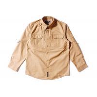 Brown Shirt Long Sleeve Men Woodland T Dry Fit Camo T-shirt