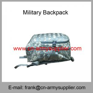 China Wholesale Cheap China Army Digital Desert Police Oxford Military Camo Backpack on sale