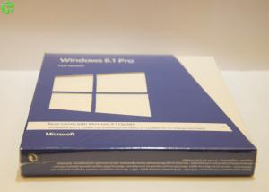 China Microsoft Windows OEM Software , Windows 8.1 Pro Pack 32bit / 64bit Retail Box on sale