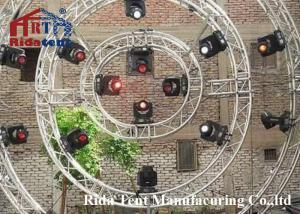 China Multi Color Round Lighting Truss , Theatre Lighting Truss 290*290mm on sale
