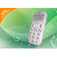 China 1.7 White Screen Long Standby Mobile Phone Elderly GPS Tracker With 20 GPS Channel on sale