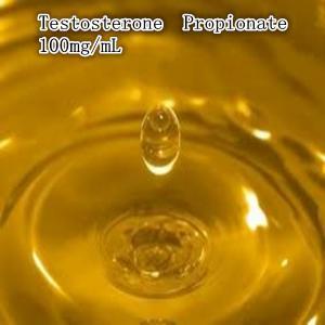 China Test-P 100 Customized Semi Finished Oil Based Liquid Testosterone Propionate 100mg/ml on sale